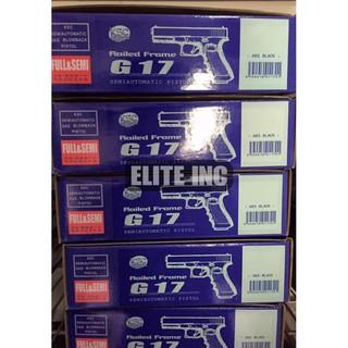 Elena | 全新 現貨 KSC KWA 全金屬 滑套 GLOCK G17 GBB 後座力 瓦斯槍 黑色 手槍 短槍
