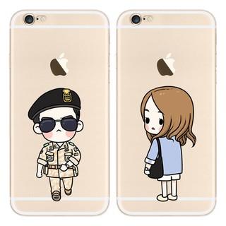 [限貨]太陽的後裔 宋仲基 蘋果iPhone 6 plus / iPhone 7 plus 軟殼 手機殼 手機套 保護套