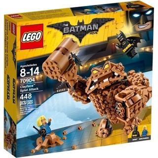 LEGO 樂高 BATMAN MOVIE 70904 Clayface Splat Attack  全新未拆