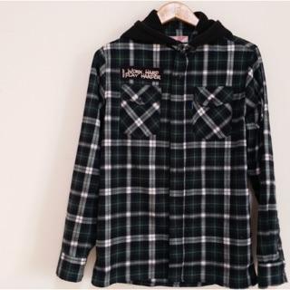 [SQUAD] 襯衫外套-格紋綠