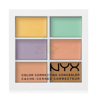 預購 NYX 修修臉 多功能 調色 盤 修容 校色 遮瑕 提亮 6*1.5g Correcting Concealer