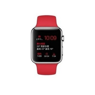 【42mm】Apple Watch 紅色運動 / 不鏽鋼 (MLLE2TA/A)