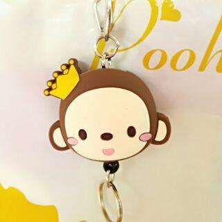 猴子鑰匙圈吊飾悠遊卡識別證
