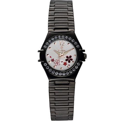 【ERICA STORE】ELIDA簡約花漾腕錶(EA2919DLB-WF)
