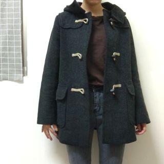 UNIQLO羊毛混紡牛角釦外套大衣