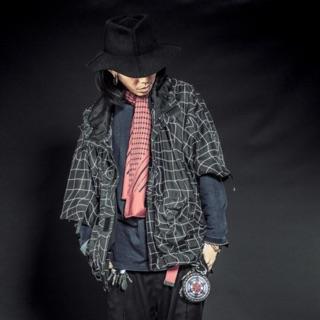 Slightlynumb DMX ACID RAIN COAT 黑01