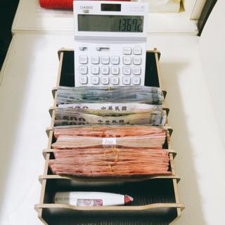 新台幣 鈔票/收銀 收納盒  開店必備