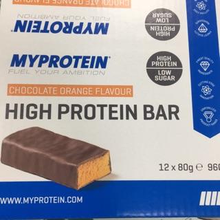 Myprotein高蛋白棒-巧克力橘子口味