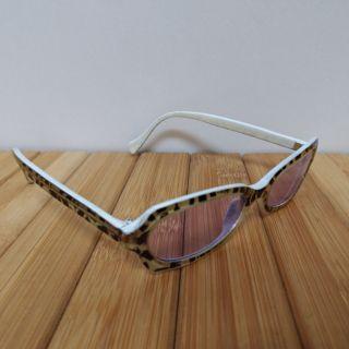 二手造型眼鏡墨鏡紫色鏡片