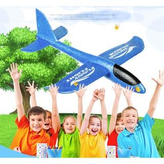 35CM 小款~NF361 ~手拋飛機特技版手拋飛機泡沫飛機迴旋玩具飛機投擲滑翔機EPP
