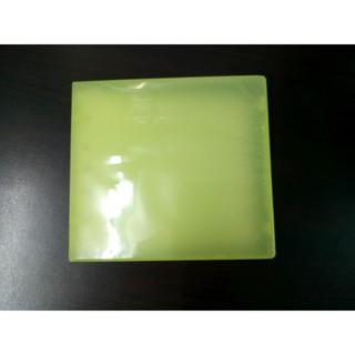 硬殼拉鍊款 光碟收納盒-黃色