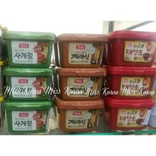 現貨🇰🇷韓國CJ味噌醬/CJ韓式豆瓣醬/思潮辣椒醬500g