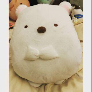 角落生物 小白熊暖手枕