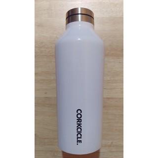 CORKCICLE 三層真空不鏽鋼易口瓶270ml(白色)