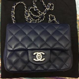 Chanel Mini Coco 17cm 方胖子 荔枝皮