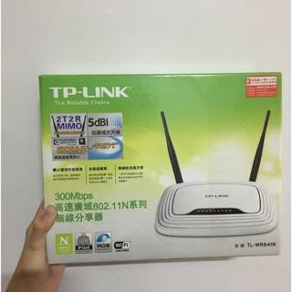 Tp-link WiFi 無線分享器 TL-wr841n wifi router