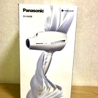 國際牌 Panasonic 白 吹風機 負離子 日本 帶回 EH-NA98 髮 禮物 現貨在台