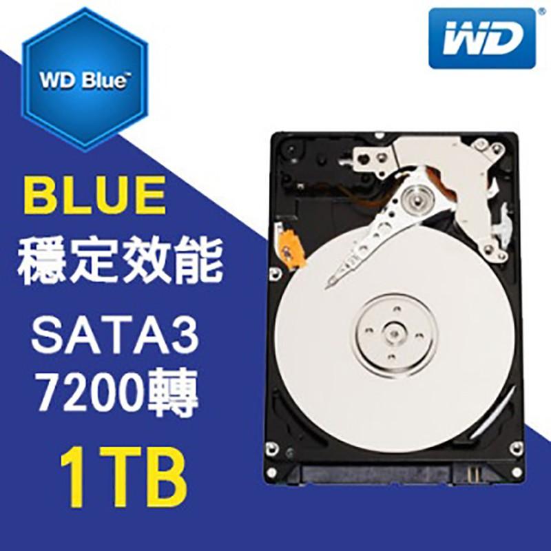 WD 1T 3.5吋 SATA3 藍標 內接 硬碟 WD10EZEX 全新開發票