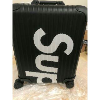 Supreme rimowa suitcase 45L 82L black 黑色 登機箱 行李箱 台北面交