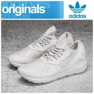 全新正品【愛迪達ADIDAS Tubular Runner】平民Y-3 Qasa限量款全白跑鞋