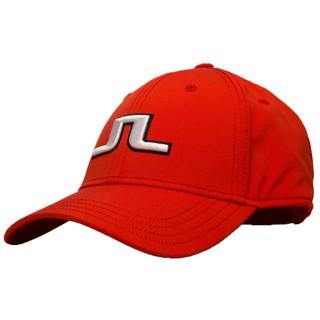 J.Lindeberg Angus Tech Stretch Cap 76 - Racing Red