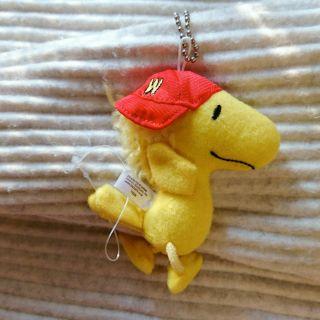 迪士尼 史努比 小黃鳥 胡士托娃娃玩偶吊飾