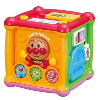 ✨特✨【現貨】麵包超人五面盒兒童玩具 益智盒
