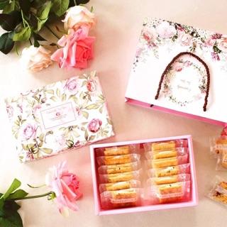 春暖花開禮盒組 禮品包裝 彌月禮 新年禮盒 手工餅乾 牛軋糖 6入 手工皂 80g 手作 蛋黃酥 馬卡龍