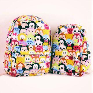 tsum tsum迪士尼後背包