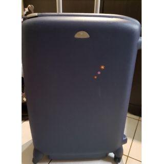 samsonite新秀麗 深藍硬殼行李箱29吋