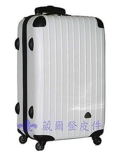 《葳爾登》29吋Just Beetle輕硬殼防刮面旅行箱防水360度行李箱摔不破登機箱JB-1002白29吋