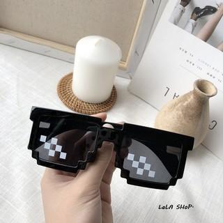惡搞馬賽克眼鏡 創意周邊 拍照道具 太陽眼鏡 墨鏡 韓版chic 搞笑墨鏡 眼鏡 特別