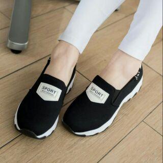 簡約包鞋懶人鞋休閒鞋平底鞋平面鞋SPORT BEST FASHION