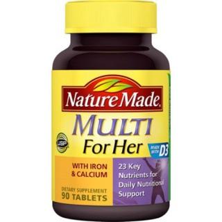Nature made 萊萃美 原裝進口女性專用維他命