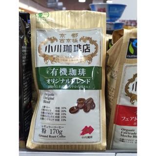 QQ賣場~日本代購京都小川咖啡店之有機咖啡粉