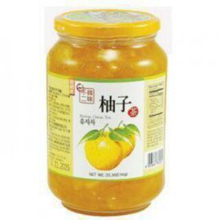 韓味不二 生黃金柚子茶 果醬