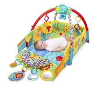 美兒小舖COSTCO好市多線上代購~Bright Starts 寶寶遊戲地墊/音樂地墊(1入)