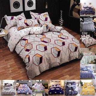 全棉韓式小清新碎花田園床上用品四件套床單被套純棉1 2M 1 5M 1 8M 2 0M 雙