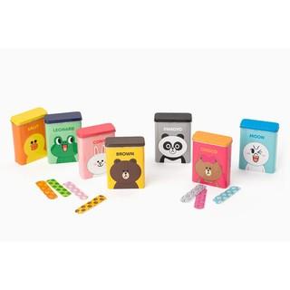 【韓國代購】 LINE FRIENDS  造型鐵盒  二代 LINE FRIENDS    造型鐵盒 收納盒 防水OK蹦
