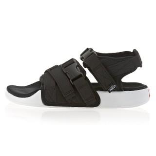稀有 韓國限定 VANS LAGUNA 男女 黑白繃帶扣環厚底休閒涼鞋
