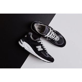 【GROUP A】NEW BALANCE 990 深藍 銀N 麂皮 氣墊 復古 慢跑鞋 總統鞋 限量 M990BK2