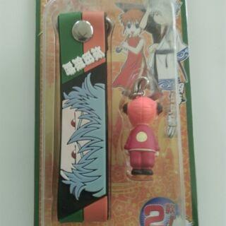 日本 銀魂 吊飾 鑰匙圈 手機吊飾 公仔 擺飾 坂田銀時 坂田 銀時 神樂