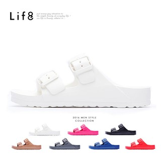 Life8-Casual 輕羽量 漂浮涼拖鞋【09595】
