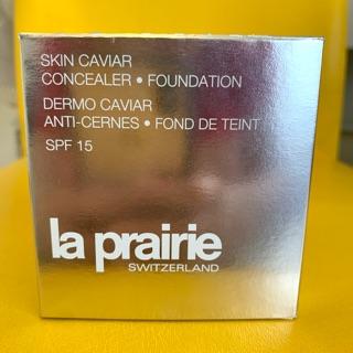La prairie 萊珀妮 魚子精萃奢華訂製粉底組 SPF 15