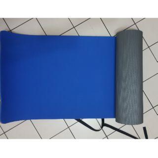 九成九新 QMAT藍色瑜珈墊