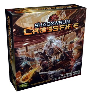Shadowrun Crossfire deck-building game