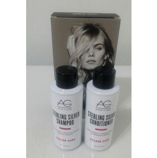 AG hair- 銀光洗髮精 /銀光護髮乳-59ml一組