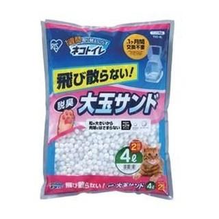 @SO-Q@日本IRIS大玉貓砂長效型除臭抗菌球砂TIO-4L // 2包以內可超取