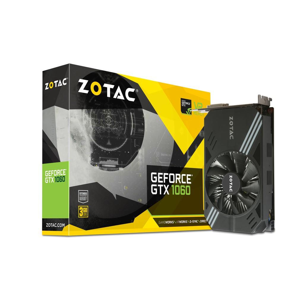 索泰 ZOTAC GTX 1060 Mini 3G 17.4cm 4年保固 含稅蝦皮開發票