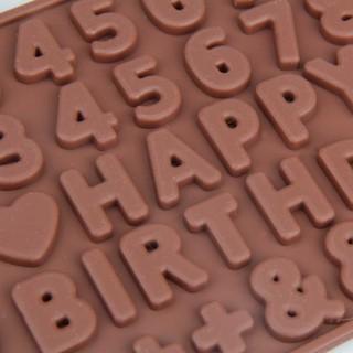 現貨 數字英文字母矽膠模 蛋糕模